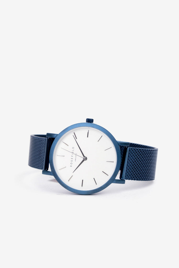 Mercer White Blue, Watches, Rosefield - Six and Sons