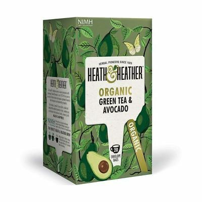 Organic Green Tea & Avocado (20 Bags)