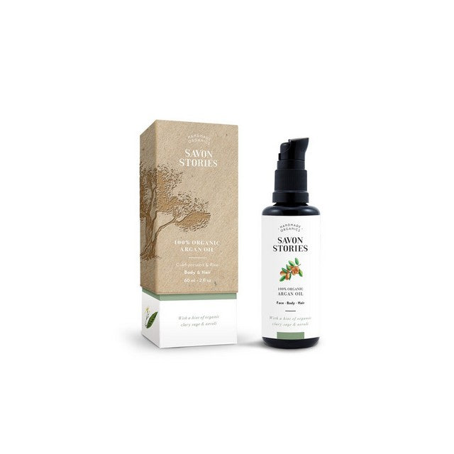 Argan oil with clary sage and neroli
