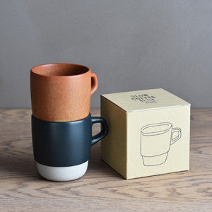 Stacking Mug Orange 320ml, Tableware, Kinto - Six and Sons