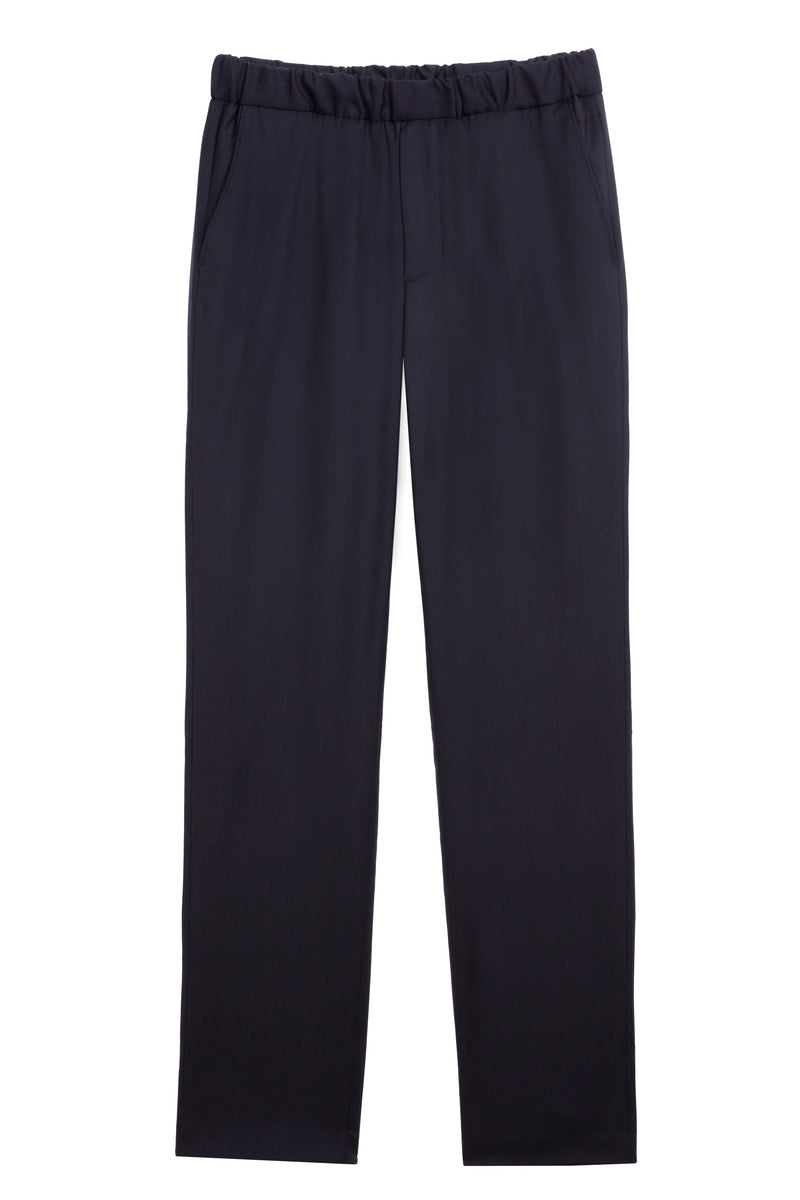 Sharp Loro Navy Trousers