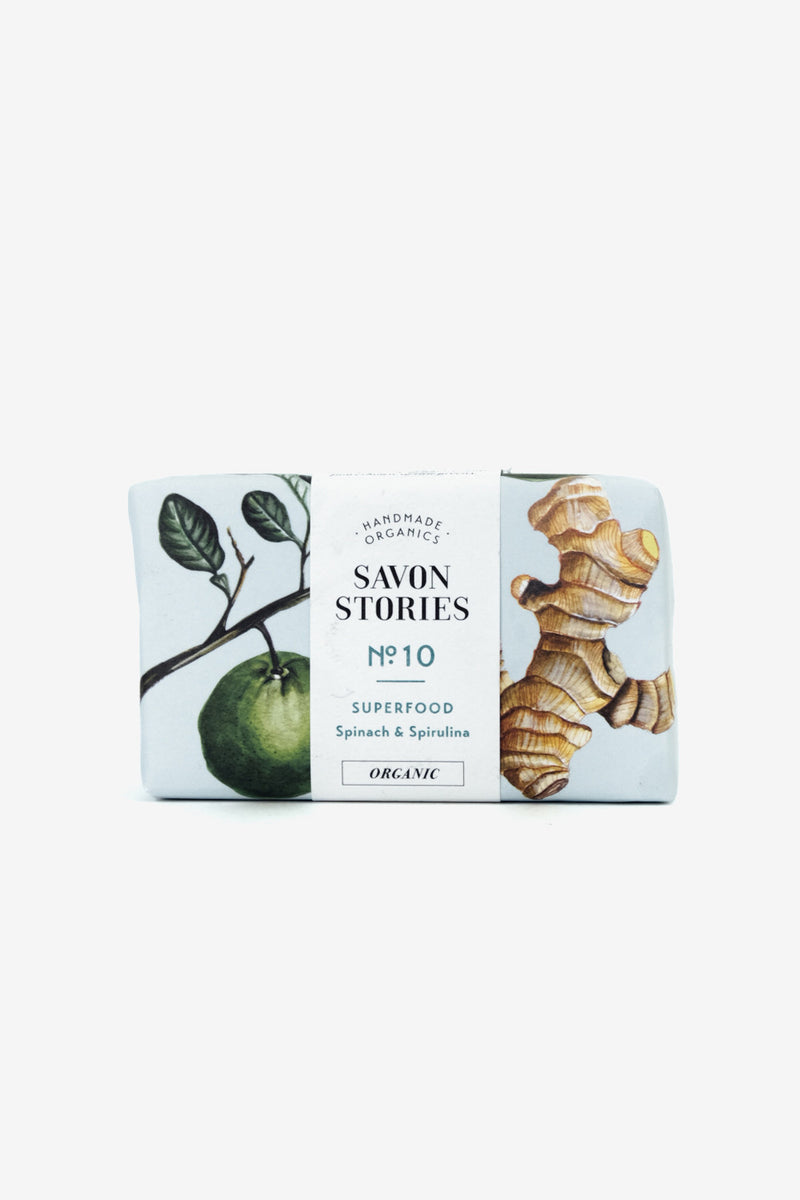Spinach Bar Soap, Personal Care, Savon Stories - Six and Sons