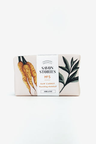 Raw Carrot Bar Wash, Personal Care, Savon Stories - Six and Sons