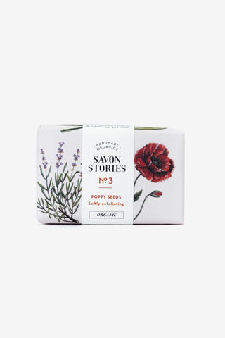 Poppy Seed Bar Soap, Personal Care, Savon Stories - Six and Sons