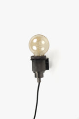 Wall Lamp 10 cm Black Metallic, Interior, H. Skjalm P. - Six and Sons