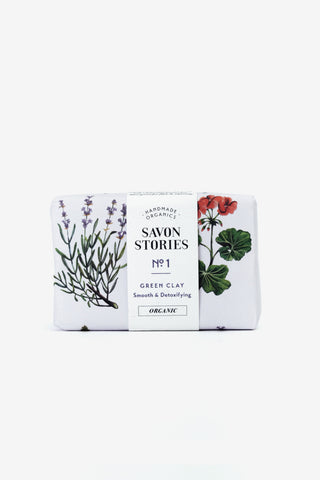 French Green Clay Bar Soap, Personal Care, Savon Stories - Six and Sons