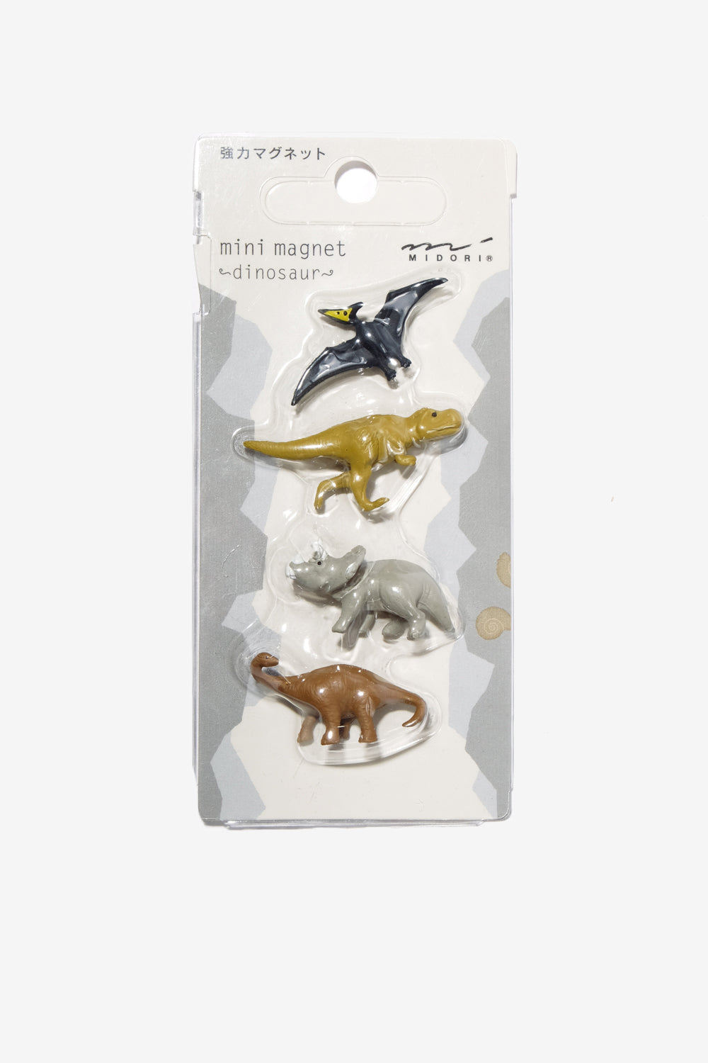 Mini Magnets Dinosaur, Office, Midori - Six and Sons