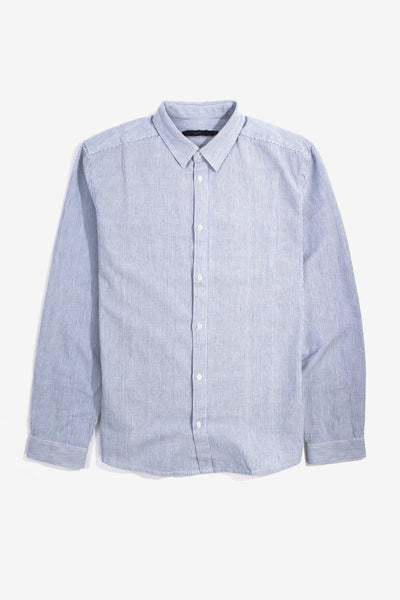 Dale Shirt Light Blue White Stripe, Clothing Men, Suit - Six and Sons