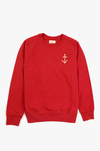 Cunha Sweatshirt Vintage Red, Clothing Men, La Paz - Six and Sons