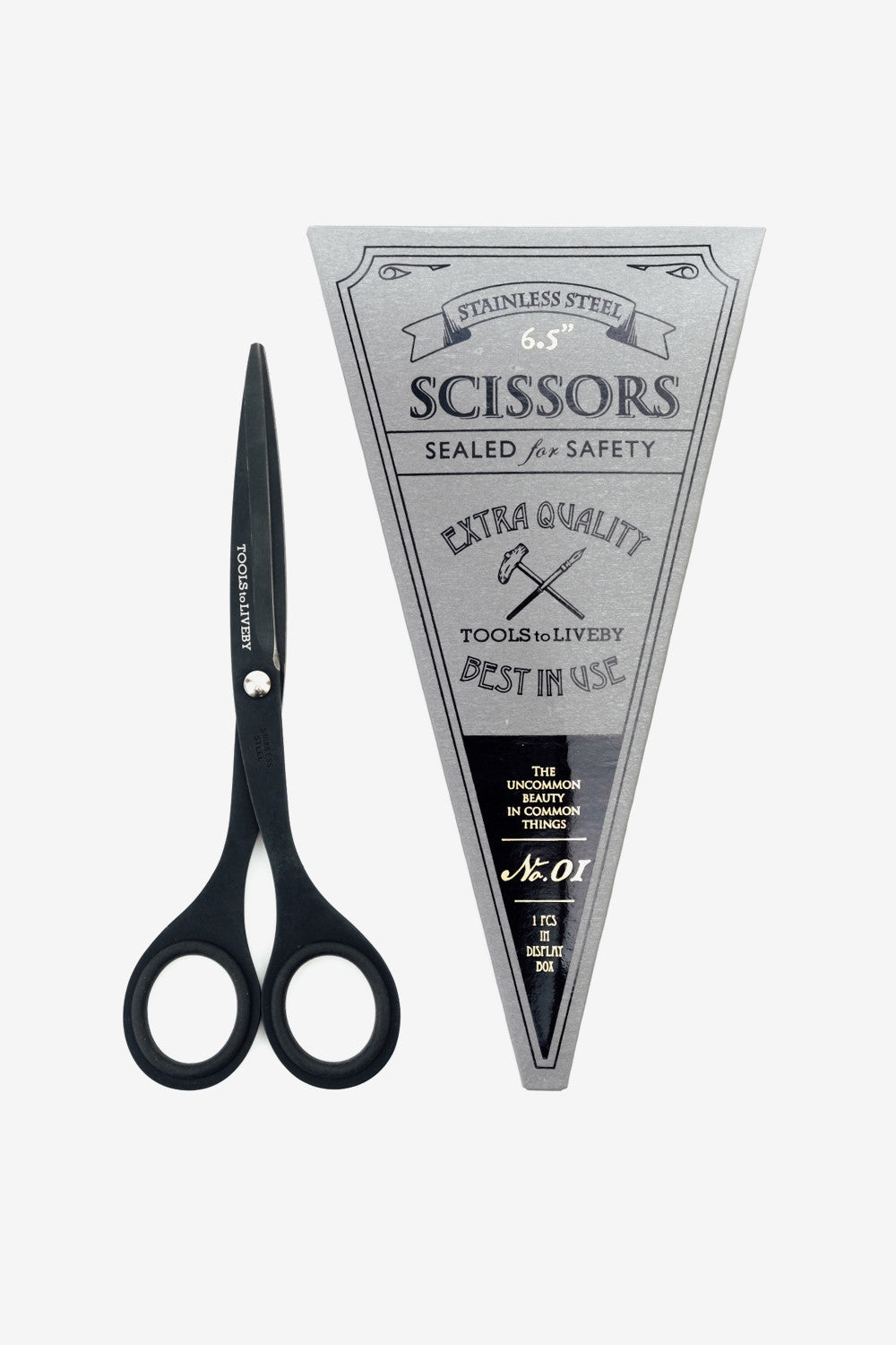 "scissors 6.5"" / black, Office, Tools to Liveby - Six and Sons"