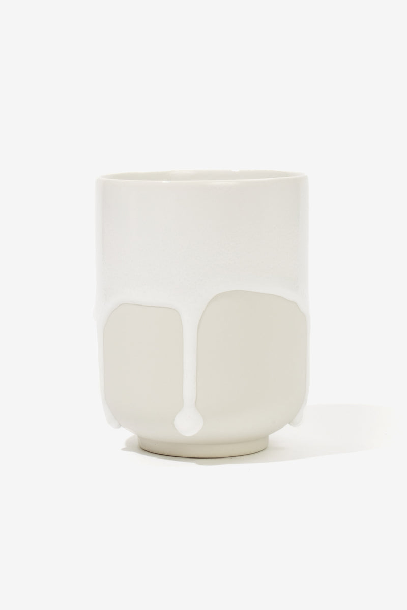 Melting Mug White, Tableware, Studio Arhoj - Six and Sons