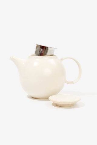 Pebble teapot 500ml white, Tableware, Kinto - Six and Sons