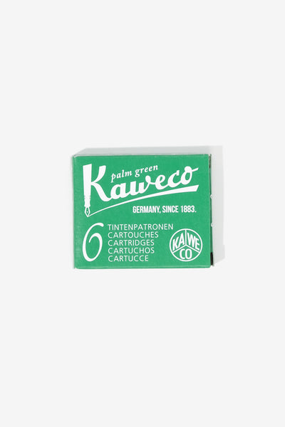 Kaweco Ink cartridges 6 pieces Green, Office, Kaweco - Six and Sons
