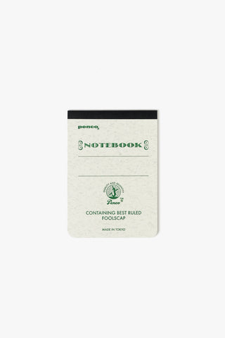 Foolscap Notebook A7 Green, Office, Penco - Six and Sons