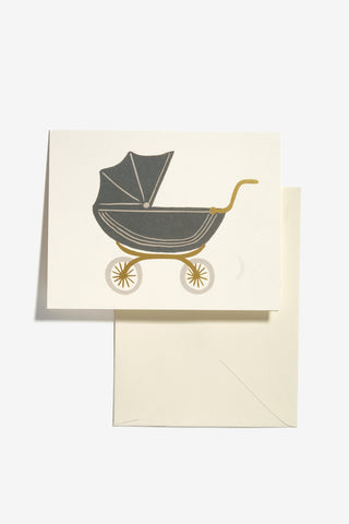 Pram Baby Card, Office, Rifle Paper Co. - Six and Sons