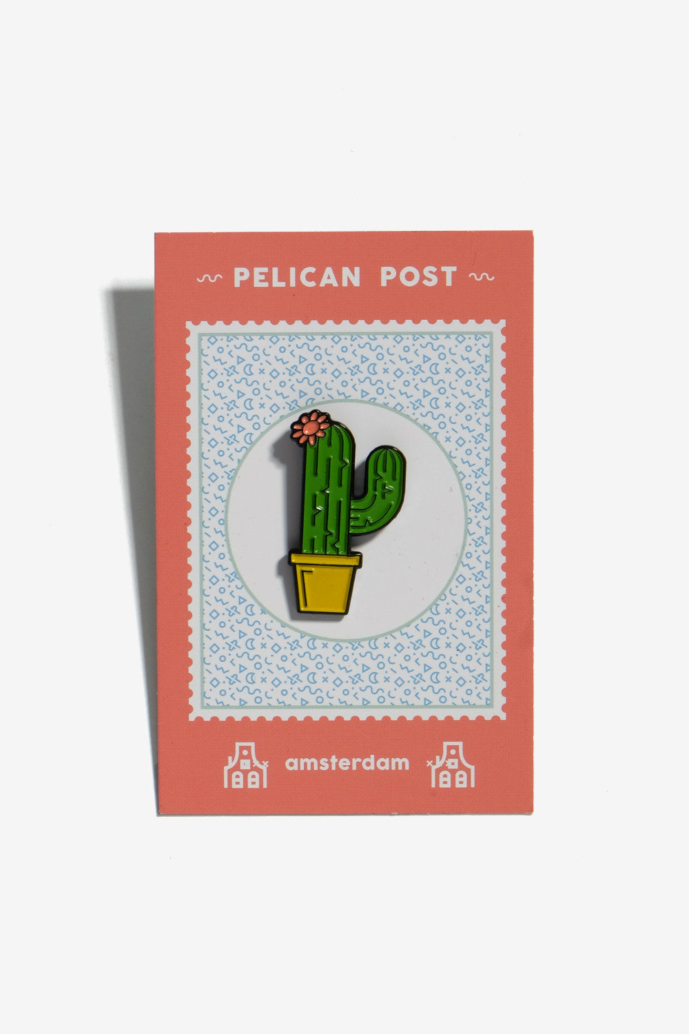 Enamel Pin Cactus, Gifts, Pelican Post - Six and Sons