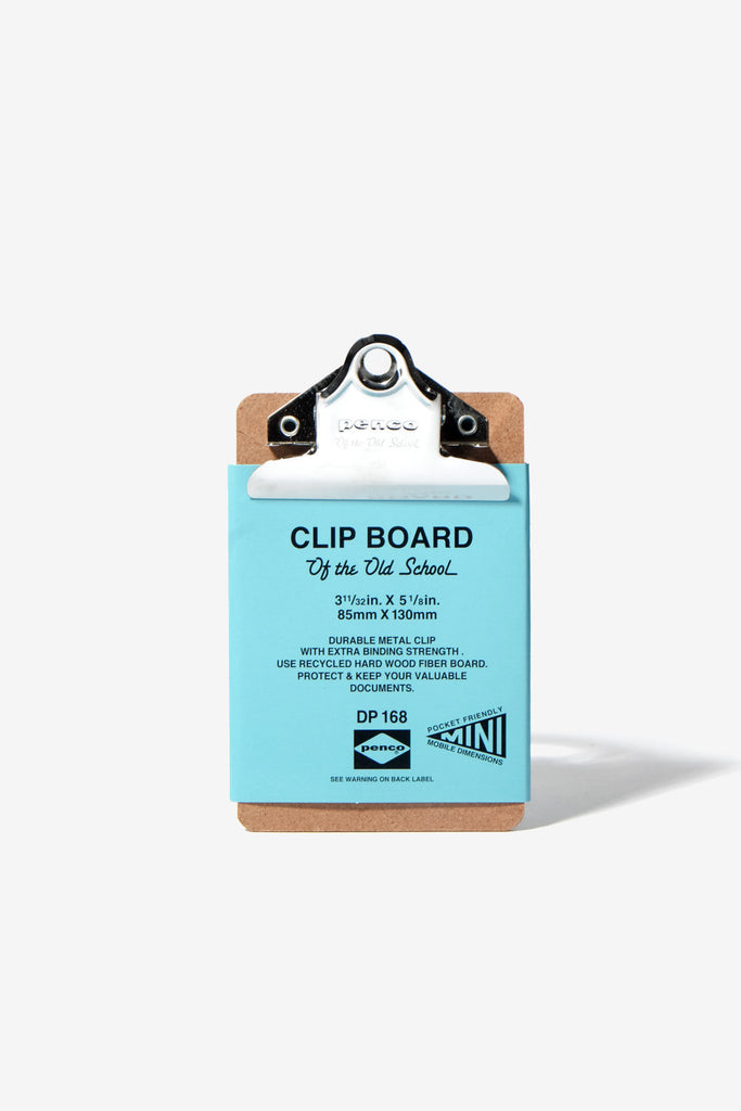 Clipboard Mini Silver, Office, Penco - Six and Sons