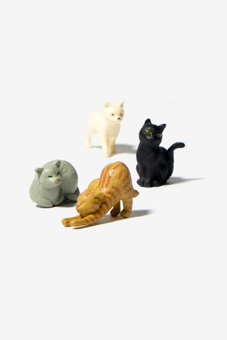 Mini Magnets Cat, Office, Midori - Six and Sons