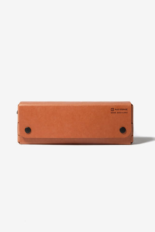 PS Pen Case Pasco Orange Tan, Office, Midori - Six and Sons