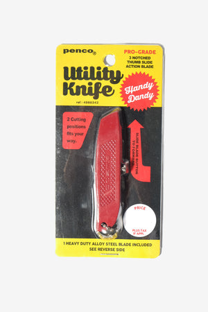 Utility Knife Red, Office, Penco - Six and Sons