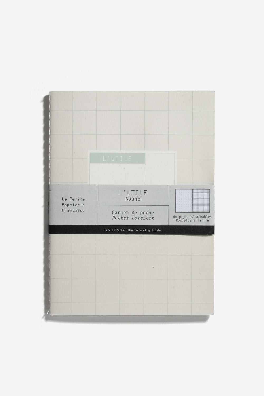 The Usefull Notebook Grey, Office, Petite Papeterie - Six and Sons
