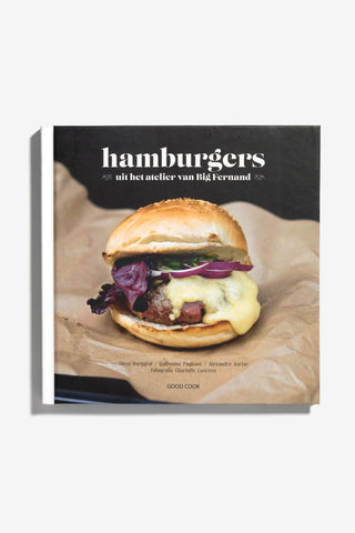 Hamburgers, Books, Good Cook - Six and Sons