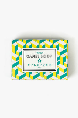 The Name Game Quiz, Gifts, Ridley's - Six and Sons
