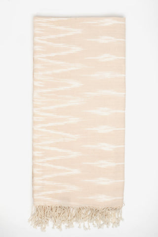 Cotton Ikat Dusty Peach, Textiles, YUYU Amsterdam - Six and Sons