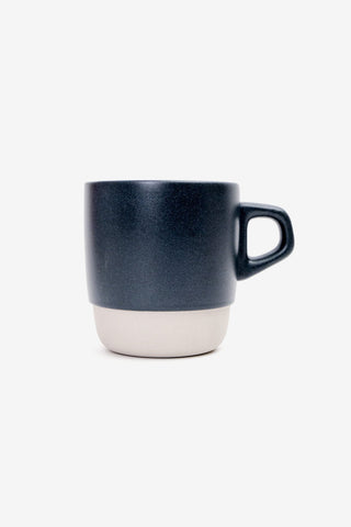 Stacking Mug Navy 320ml, Tableware, Kinto - Six and Sons