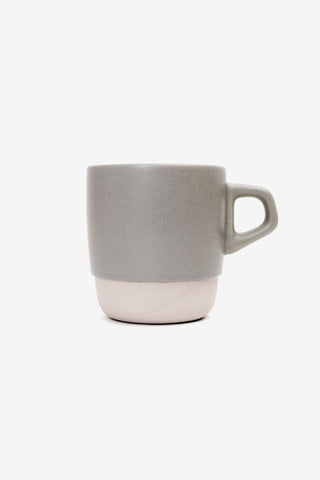 Stacking Mug Gray 320ml, Tableware, Kinto - Six and Sons