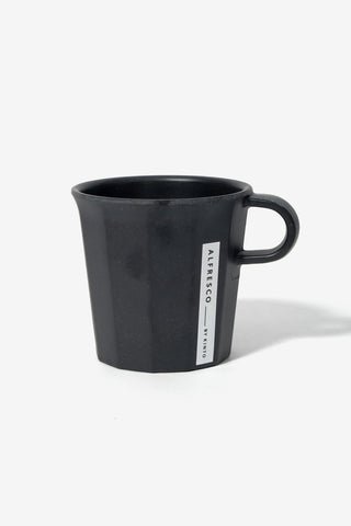 ALFRESCO Mug Black, Tableware, Kinto - Six and Sons