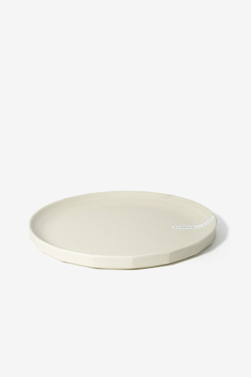 ALFRESCO Plate 250 mm Beige, Tableware, Kinto - Six and Sons