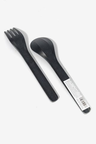 ALFRESCO Spoon Black, Tableware, Kinto - Six and Sons