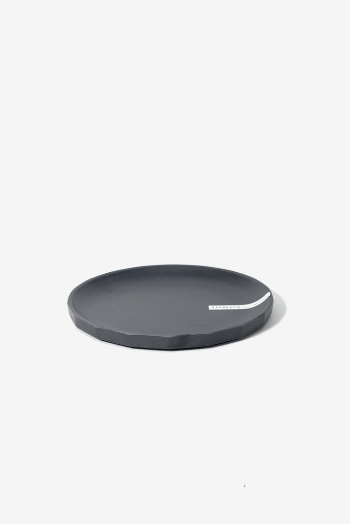ALFRESCO Plate 190 mm Black, Tableware, Kinto - Six and Sons