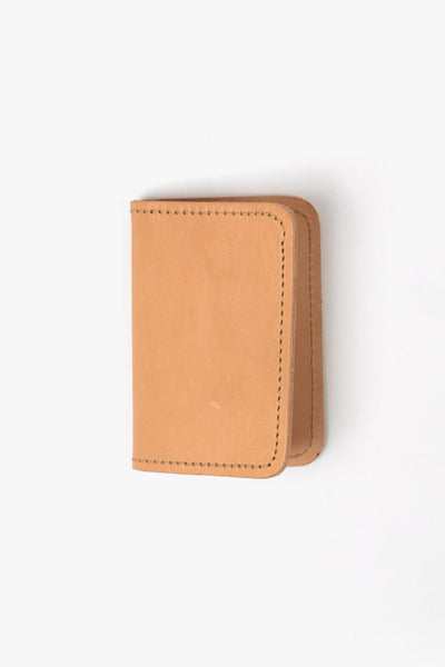 Leather Cardholder Roger Nude, Wallet, NAN-GOODS - Six and Sons