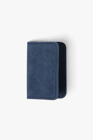 Leather Cardholder Roger Dark Blue, Wallet, NAN-GOODS - Six and Sons