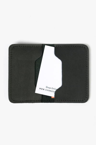 Leather Cardholder Roger Black, Bags, NAN-GOODS - Six and Sons