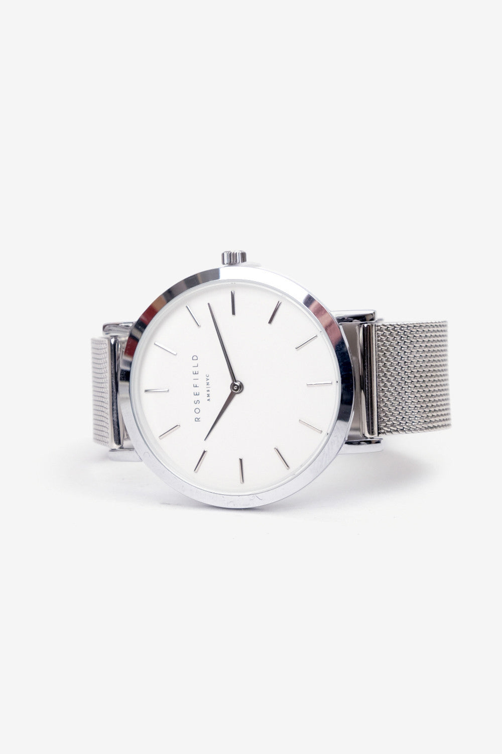 Mercer White Silver, Watches, Rosefield - Six and Sons