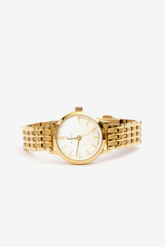 RENARD Elite Champagne Gold 25.5 Gold Link, Watches, Renard - Six and Sons