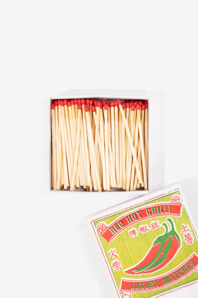 Safety Matches Chilli Matchbox, Gifts, The Fine Matchbox Company - Six and Sons
