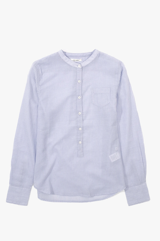 Nué Notes, Bianca Tunic Dapple Blue Stripe, Clothing Women, Nué Notes - Six and Sons