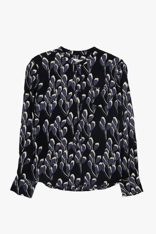 Nué Notes, Bianca Tunic Black, Floral Print, Clothing Women, Nué Notes - Six and Sons