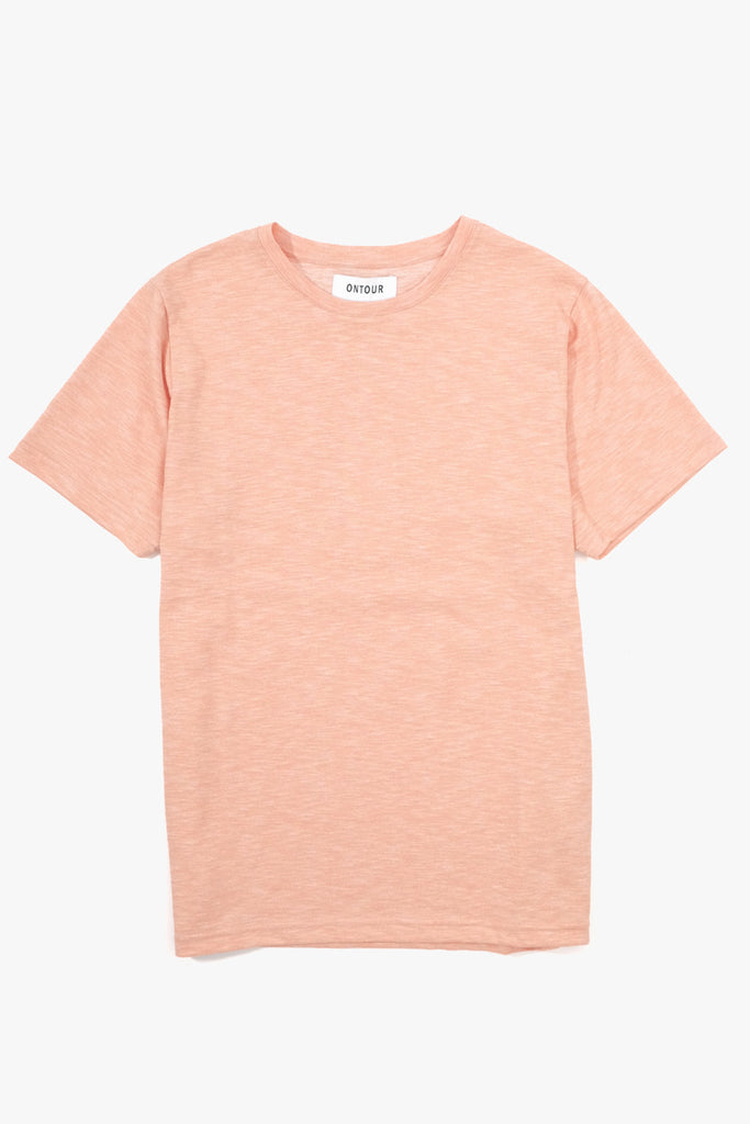 Pacific T-Shirt Peach, Clothing Men, Ontour - Six and Sons