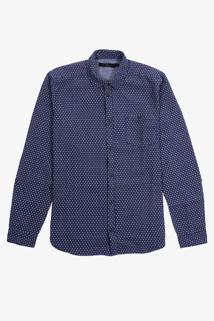 Dexter Shirt Dust Blue, Clothing Men, Suit - Six and Sons