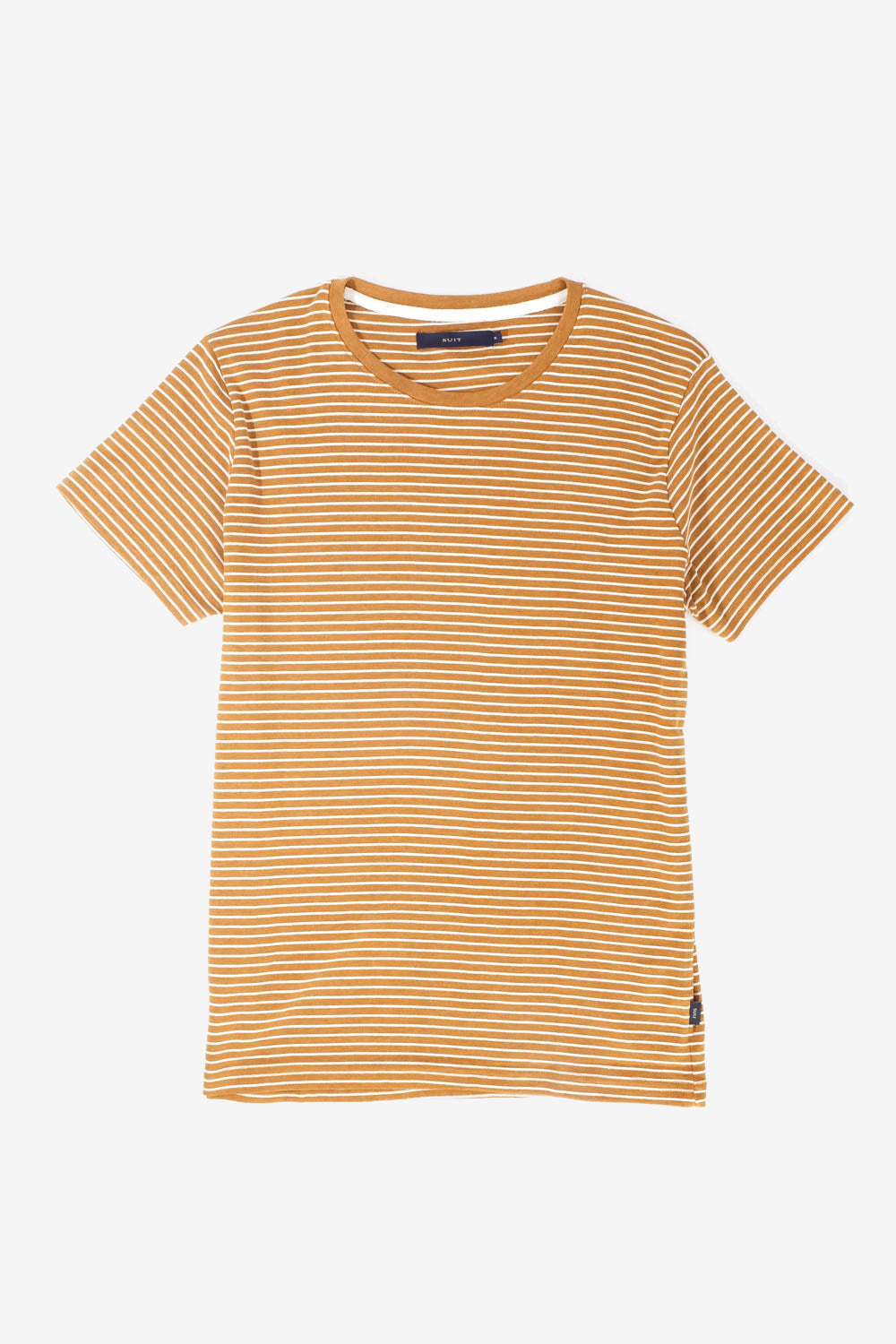 Barking Dark Yellow T-Shirt, Clothing Men, Suit - Six and Sons
