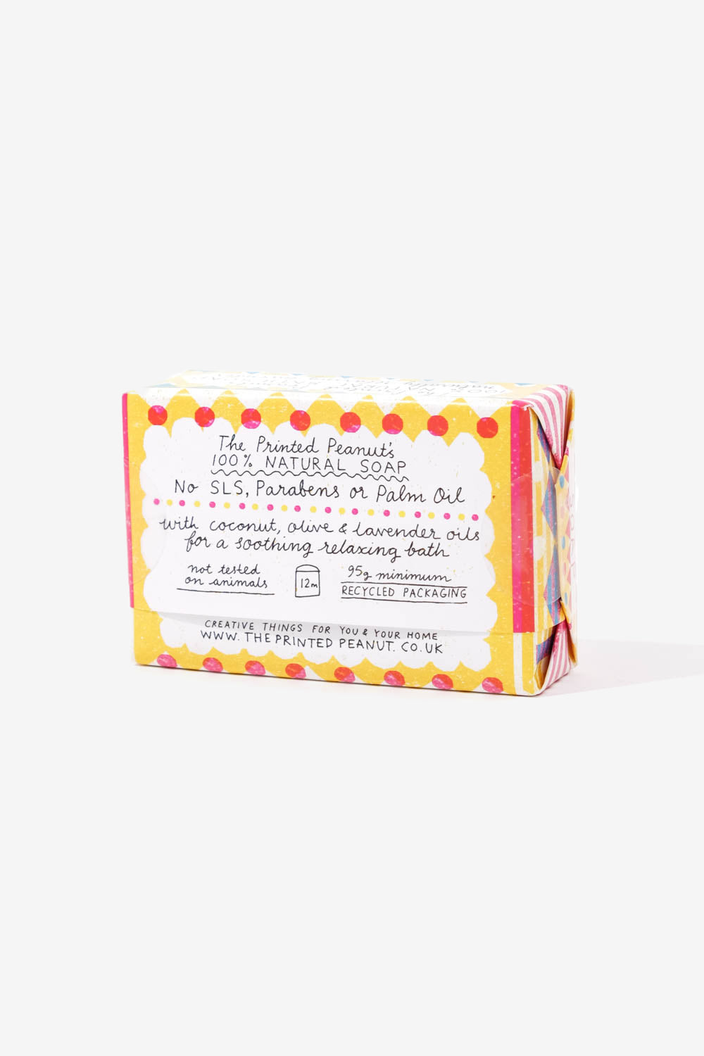 Natural Handmade Lavender Bath Soap Bar, Personal Care, The Printed Peanut LTD - Six and Sons