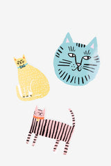Cat Vinyl Sticker Pack, Gifts, The Printed Peanut LTD - Six and Sons