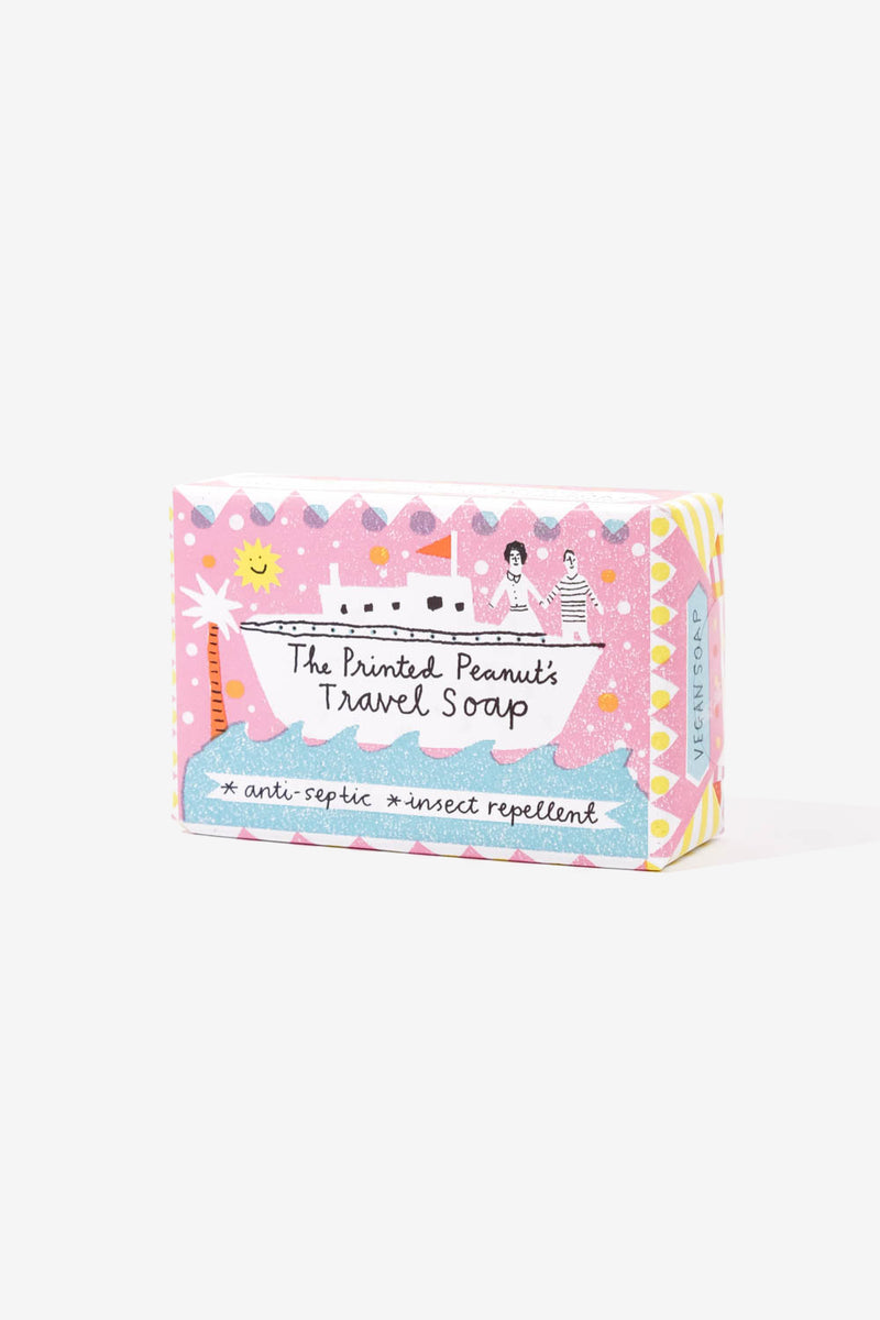 Natural Handmade Travel Soap Bar, Personal Care, The Printed Peanut LTD - Six and Sons