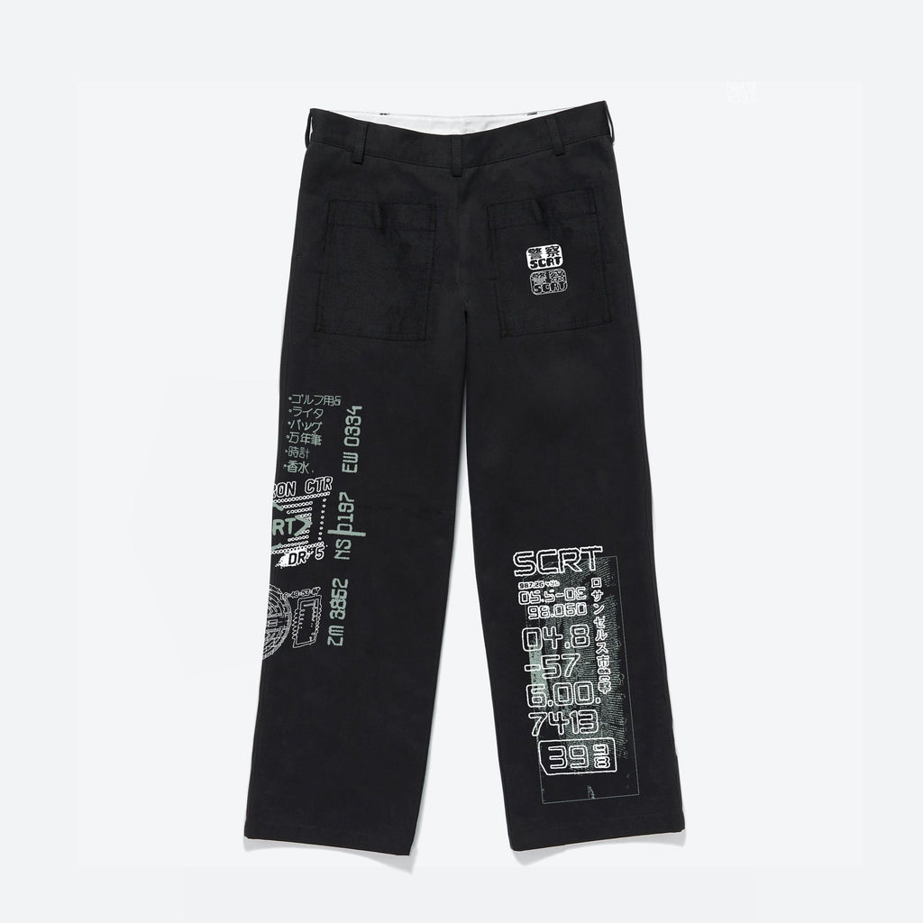 Off World Trousers Black