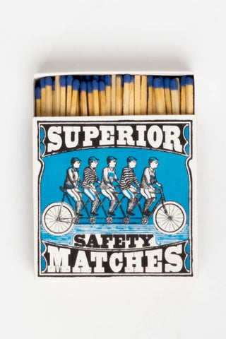 Safety Matches 5 Cyclists, Gifts, The Fine Matchbox Company - Six and Sons